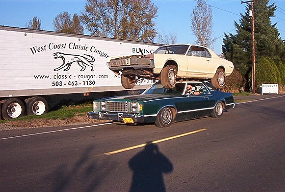 Ford Mercury Cougar Xr7 - 1967
