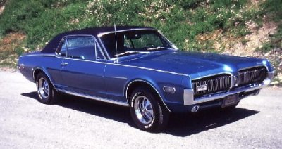 Ford Mercury Cougar Xr7 - A close look at the 1967-1968